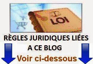 REGLES JURIDIQUES DU BLOG