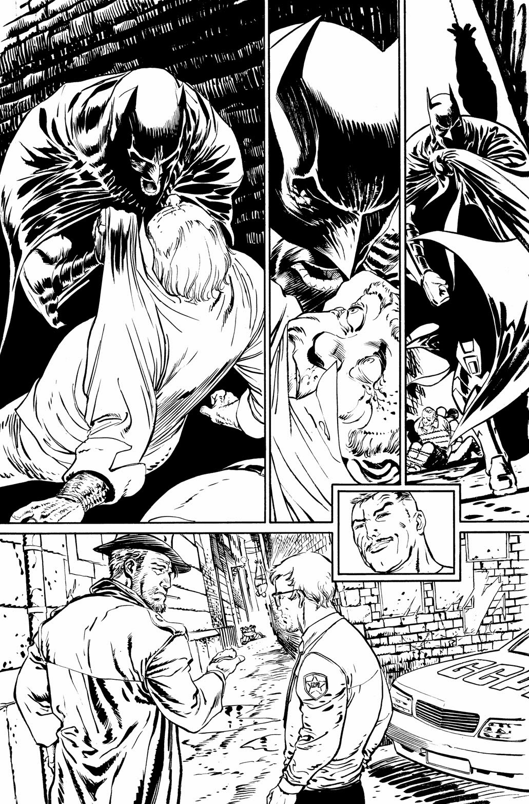 Pages from BATMAN ETERNAL 8 by Guillem March