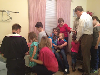 The Power of the Sacrament of Anointing of the Sick for the ill and their family