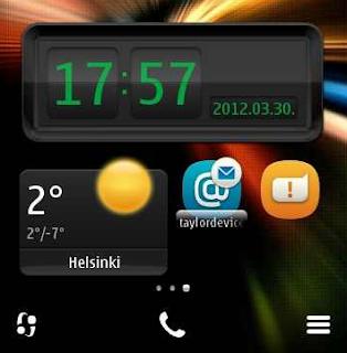 Widgets para Symbian Belle - Nokia N8 C7 E7 C6-01 E6