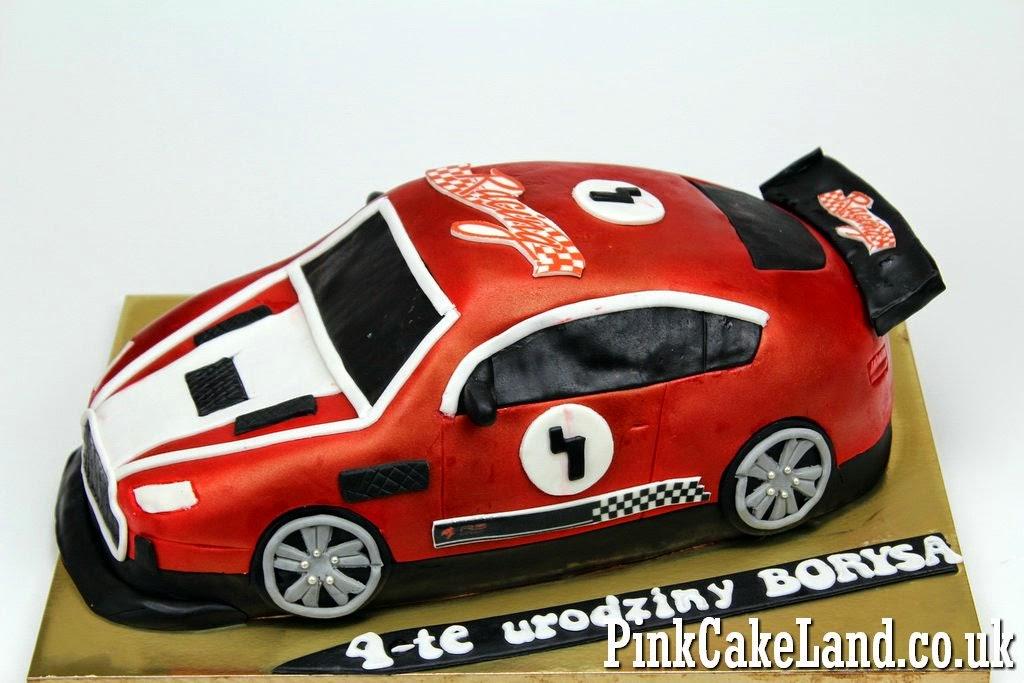 Sport Car Birthday Cake in London