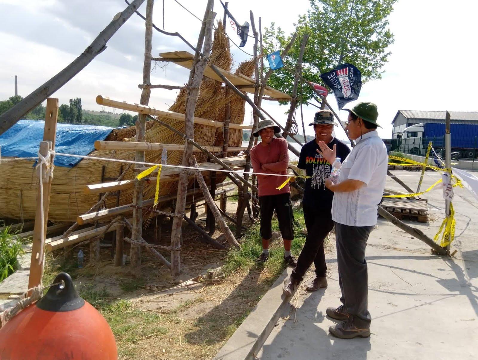 Juan Yupanqui con Limanchi, construcción de Abora IV
