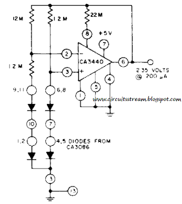 Simple Micro Power Supply Circuit Diagram