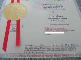 Guide for DFA Authentication of Documents (Red Ribbon)