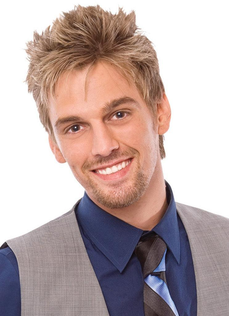 Aaron Carter Hairstyle...