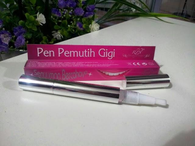 Pen Pemutih Gigi Putihkan Gigi Anda Qlimaxshop Pengedar