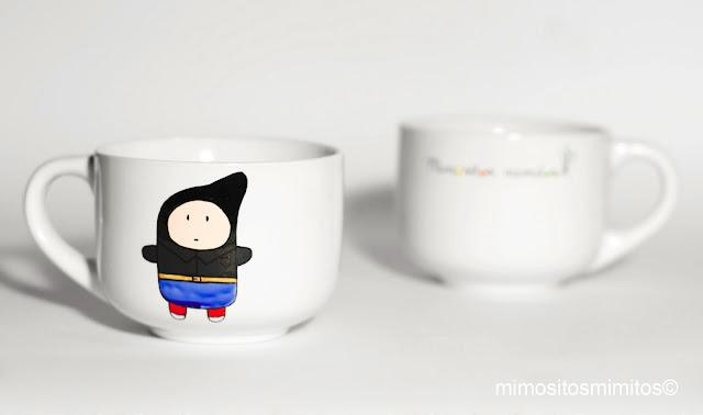 tazas hechas a mano personalizables originales y molonas