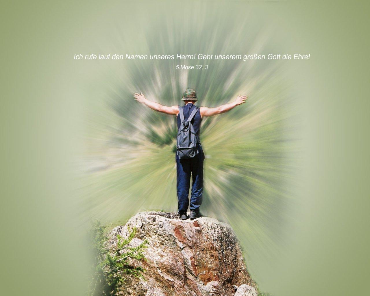Gebt ihm ehre christliche hintergrundbilder - Christliche hintergrundbilder ...