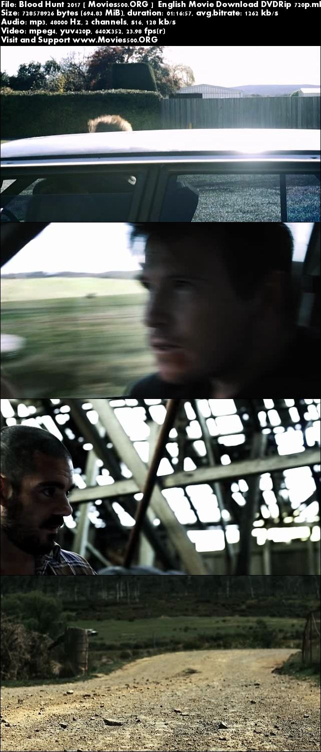 Blood Hunt 2017 English Movie Download DVDRip at sweac.org