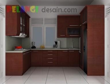 Kitchenset Pelangi Desain Interior Kitchen Set Melamic