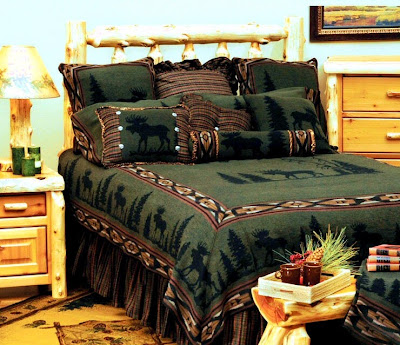 cabin-moose-bedding-set