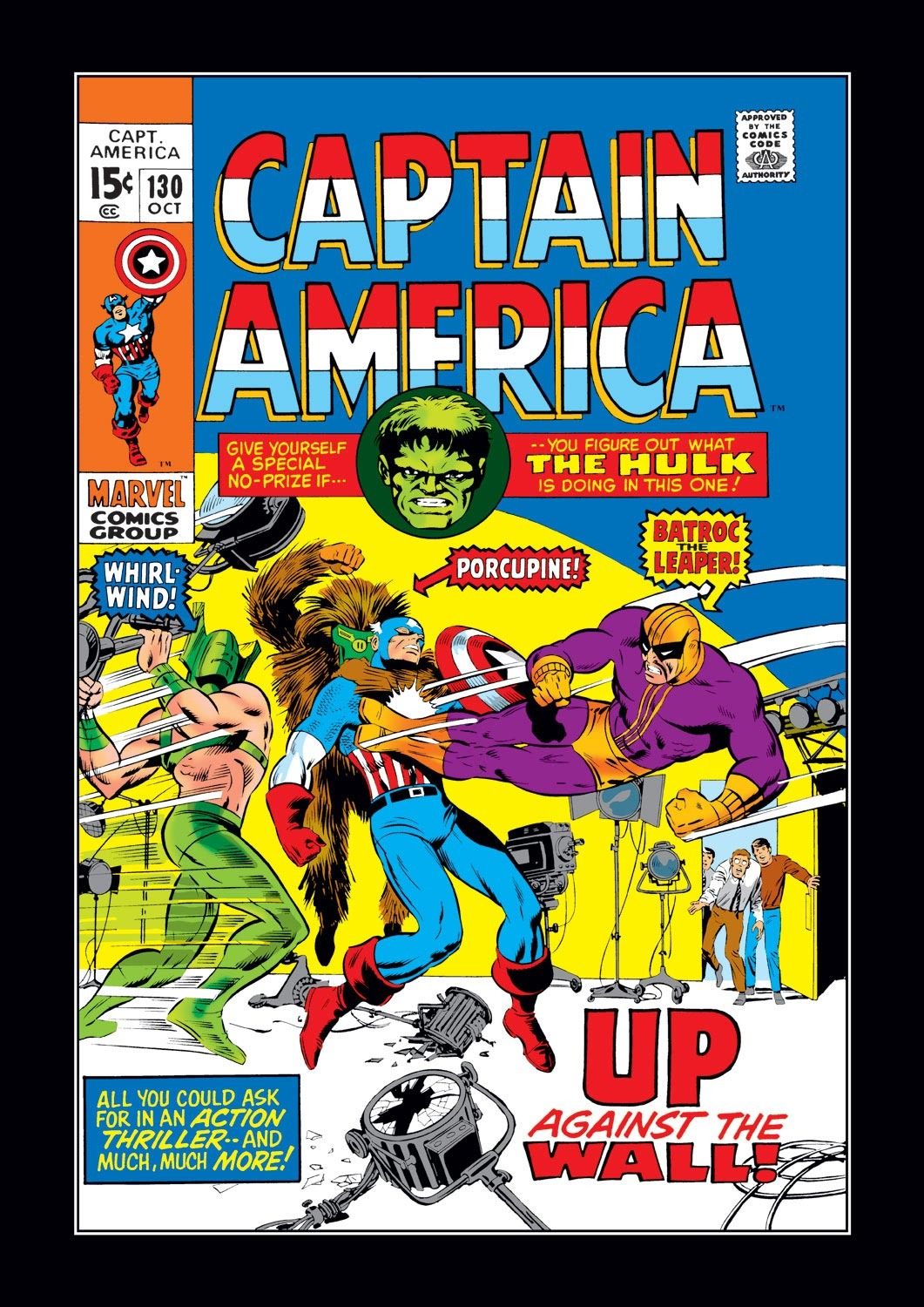 Captain America (1968) Issue #130 #44 - English 1