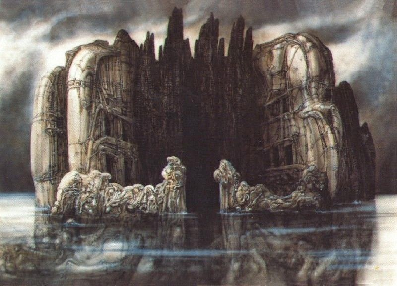 Billedresultat for h r giger island of death