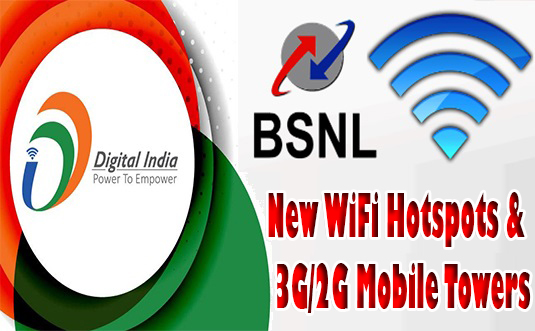Digital India Week Celebrations: BSNL Kerala Circle to inaugurate New 3G/2G Mobile Towers