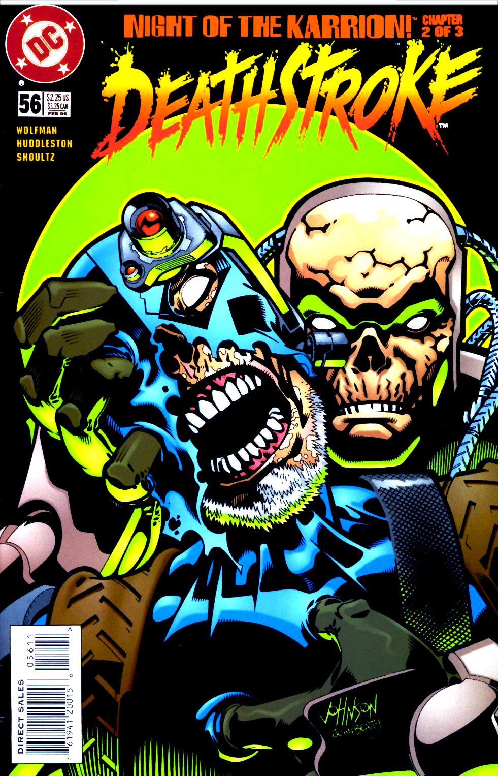 Deathstroke (1991) Issue #56 #61 - English 1