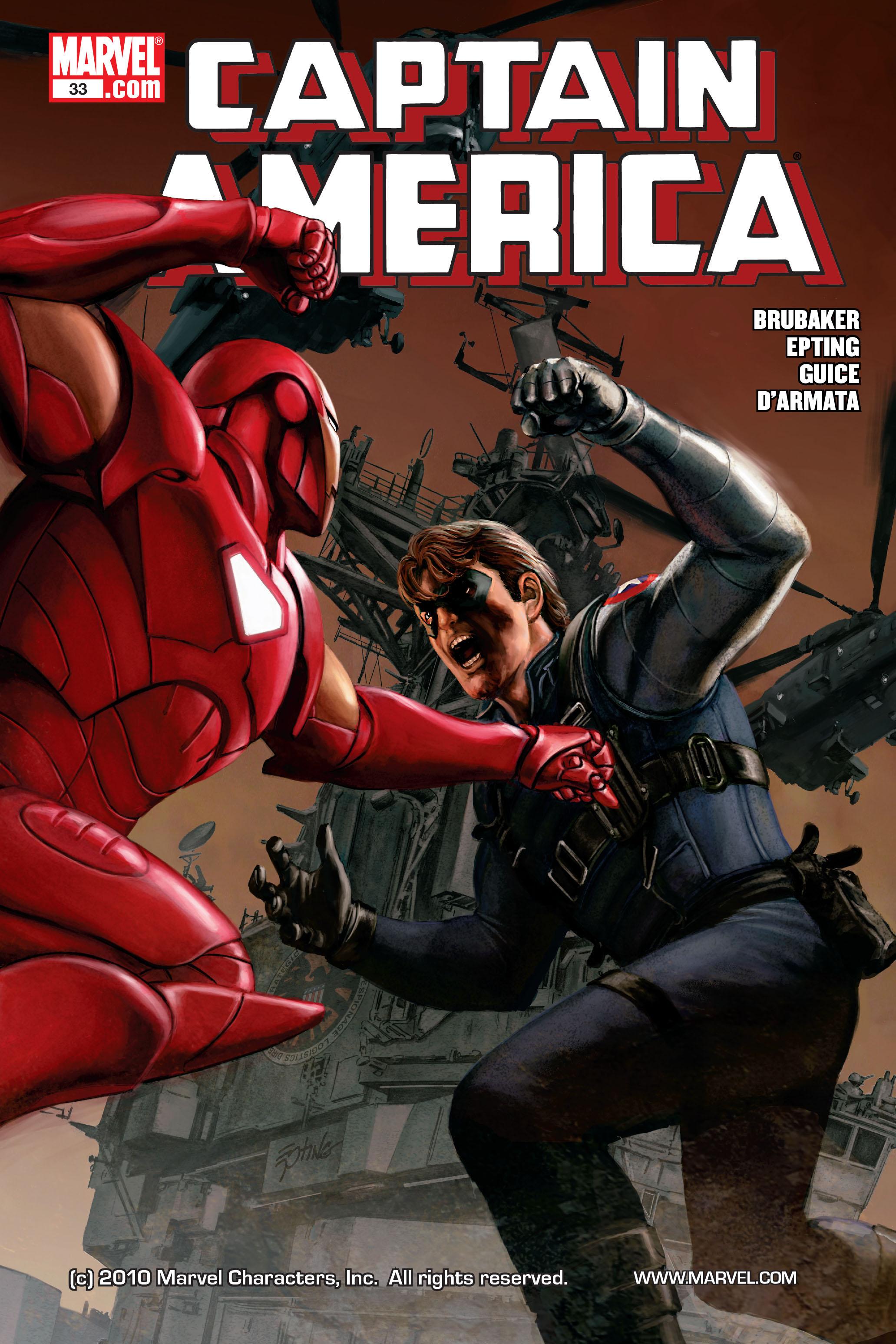Captain America (2005) Issue #33 #33 - English 1