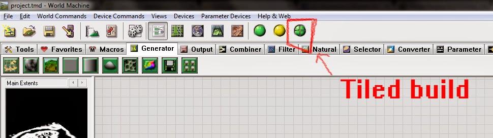 Tilled build button