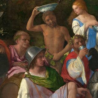 Dei di Bellini:Silvano, Mercurio e Giove affiancato da un'aquila.