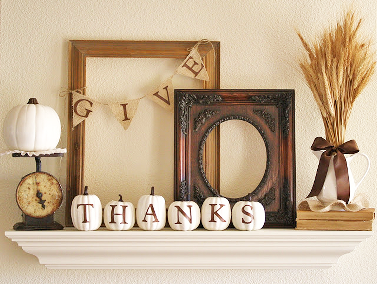 Give Thanks Decor