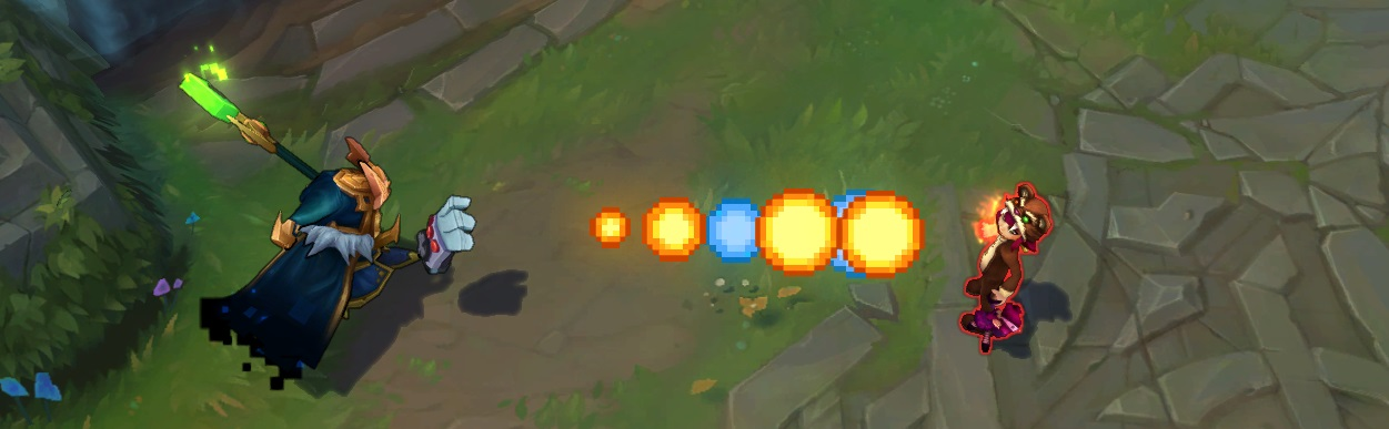 The new Veigar skin Q