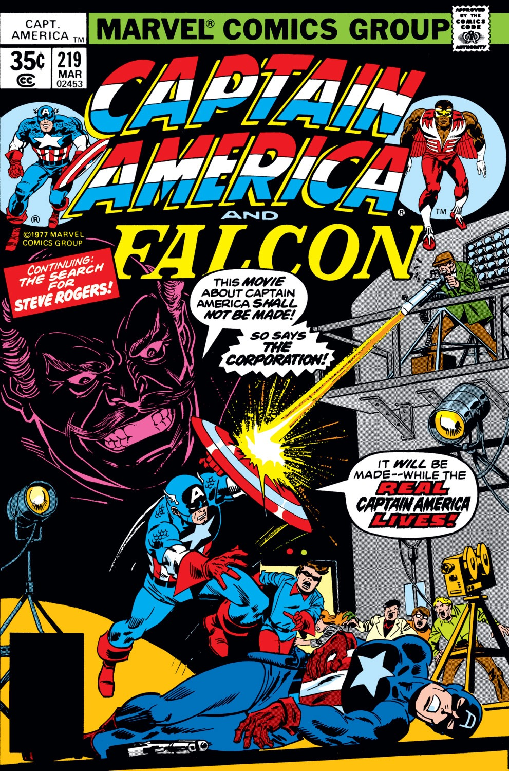 Captain America (1968) Issue #219 #133 - English 1