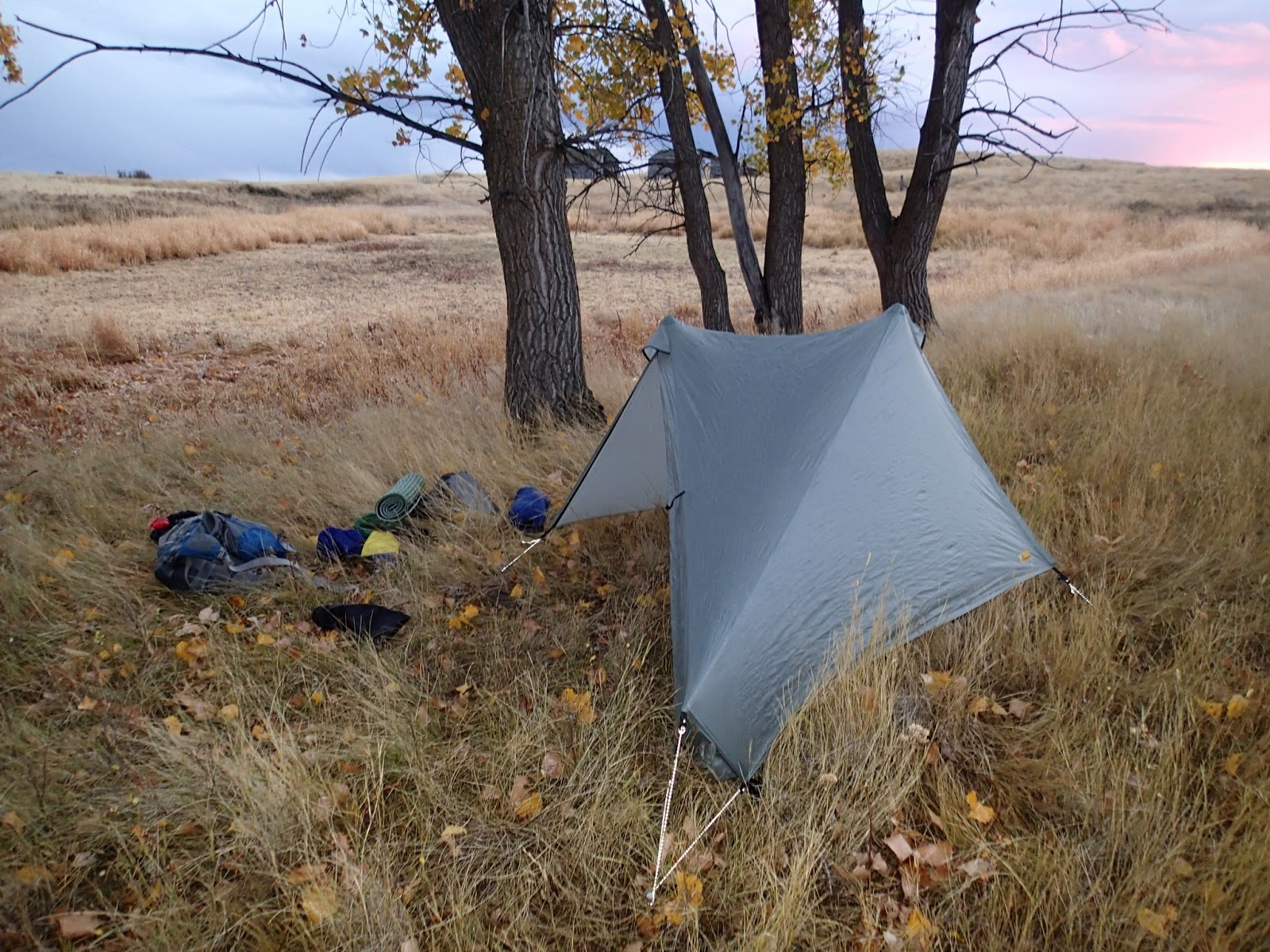 Notch good lightweight tent with some shortcomings & Ken Ilgunas: May 2013