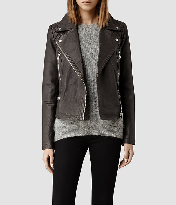 all saints leather jackets
