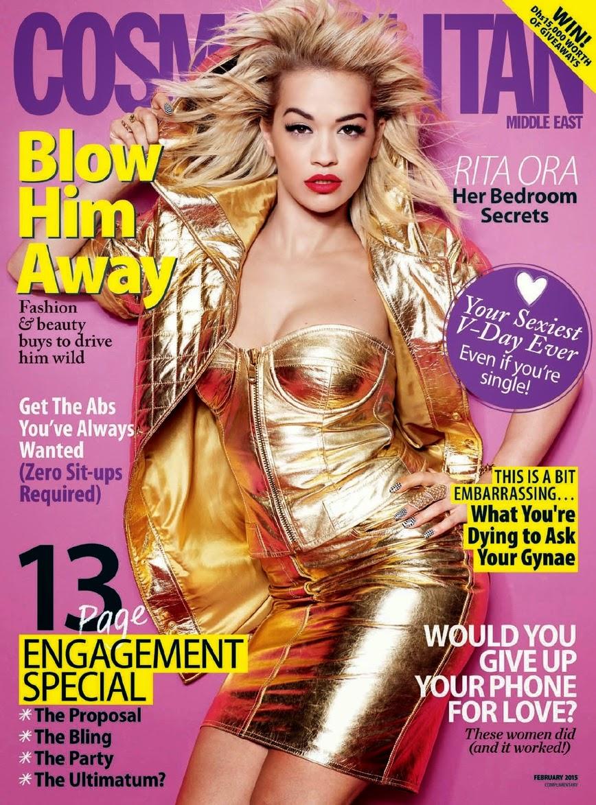 Singer, Songwriter, Actress: Rita Ora for Cosmopolitan Middle East