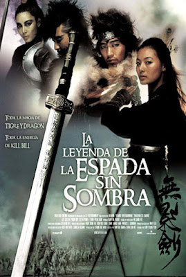 El Poder de la Espada / La Leyenda de la Espada sin Sombra Poster