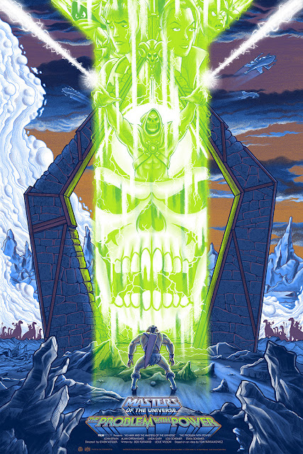 MondoCon 2015 Exclusive Masters of the Universe: The Problem with Power Screen Print by Mike Saputo