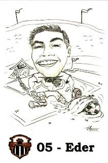 a desenhar caricaturas de time Tabajara   colorir
