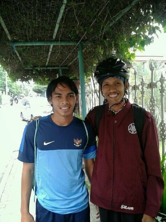 Aku dan Rasyid Bakri Timnas Indonesia U23 di UNY