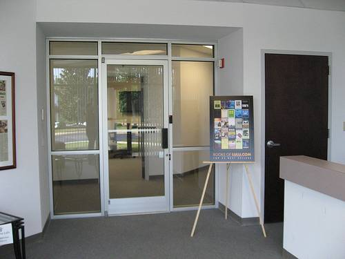 Office And Factory Renovation Commercial Office Doors