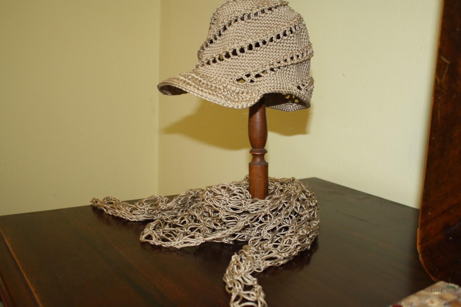 Oanacrochet Cappello A Spirale Con Il Punto Basso
