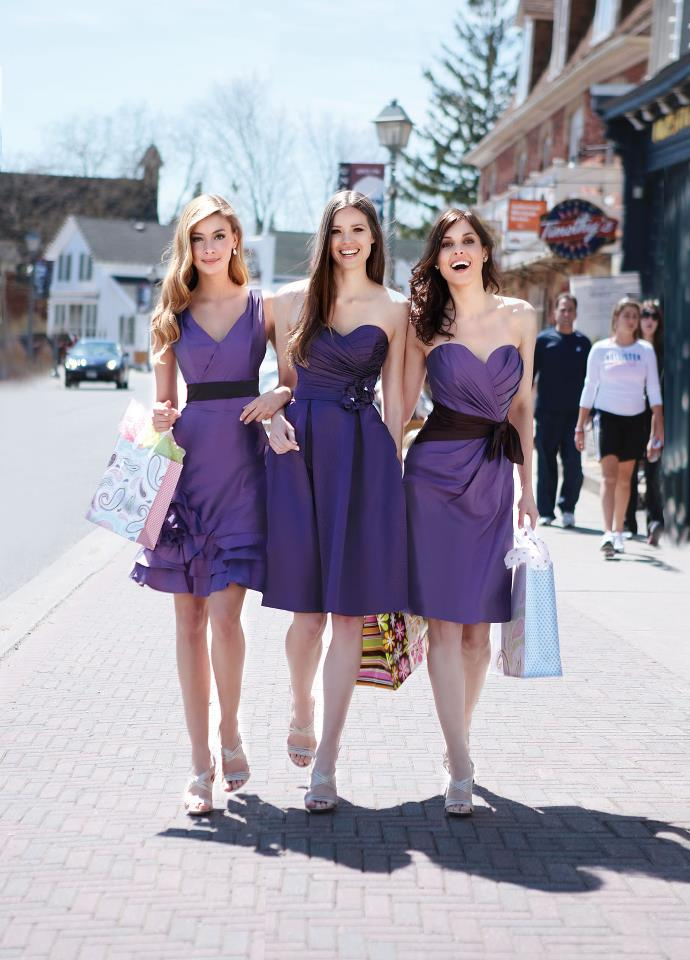Trendsfor 2014: Impression Bridal 2012 Bridesmaid Dresses