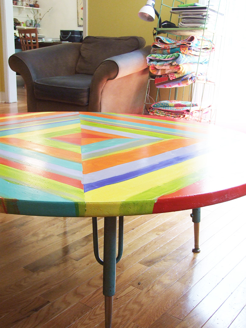 Table Re Do, Painting Formica
