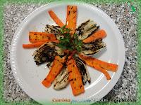 Finocchi e carote alla piastra