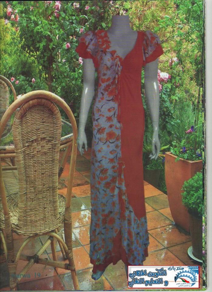 خياطة قنادر الصيف من مجلة مروة