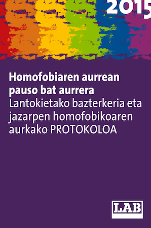 >>> HOMOFOBIAREN AURREAN PAUSO BAT AURRERA