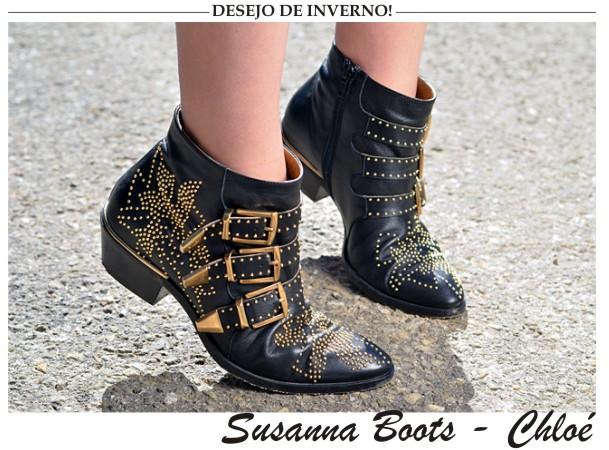 A nova tendencia do inverno, Susanna Boots