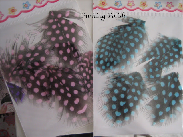 Born Pretty Store Nail Art Feathers