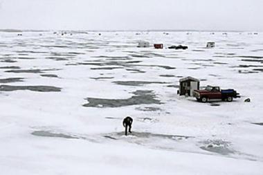 The wild side january 2013 for Ice fishing south dakota