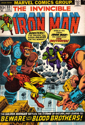 Iron Man #55, the Destroyer