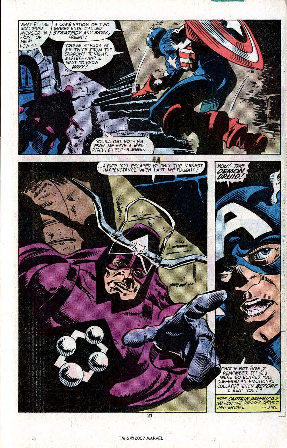 Captain America (1968) Issue #256 #171 - English 23