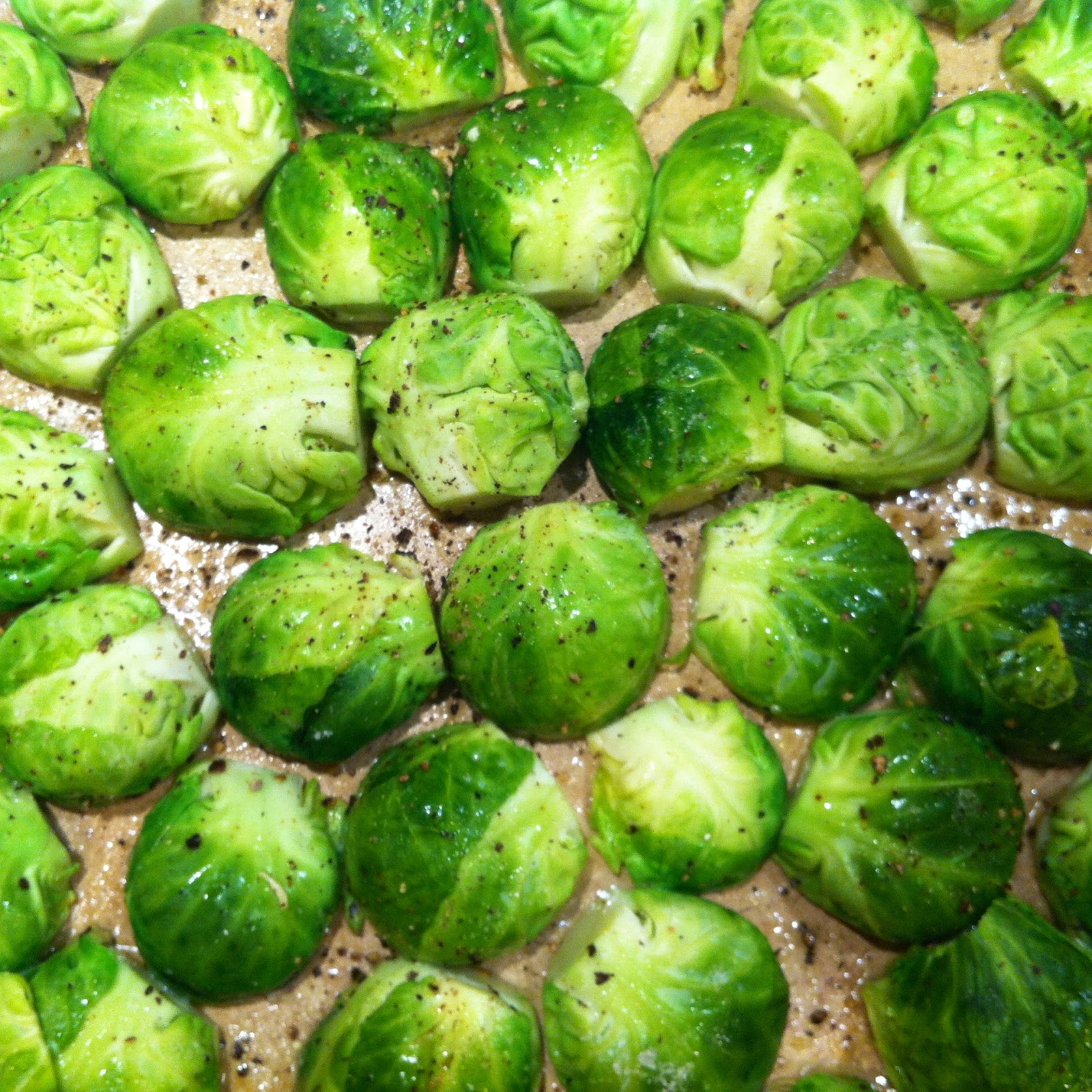 my petit sweets: Dijon-Braised Brussels Sprouts