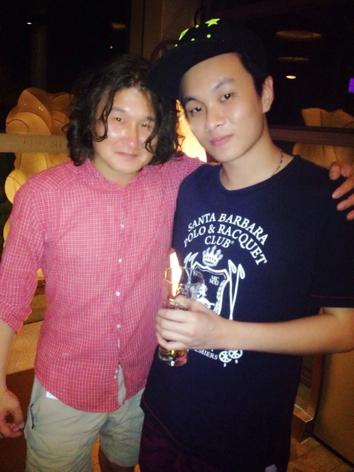 Byambaa B-rad & Ray Tan 陳學沿 (raytansy) @ Skybar Traders Hotel @ Puteri Harbour, Malaysia