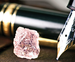 Berlian merah jambu ditemui