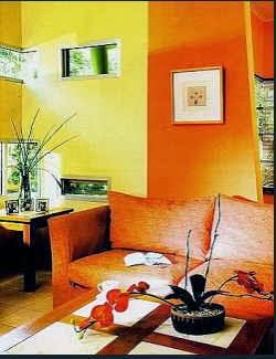 memilih desain warna cat rumah/minimalis sesuai karakter