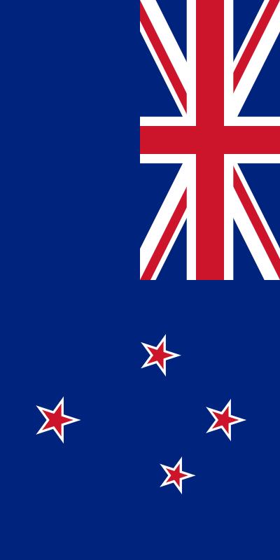 bandera de Nueva Zelanda para imprimir