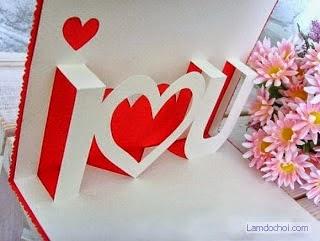 Làm Thiệp Valentine Handmade